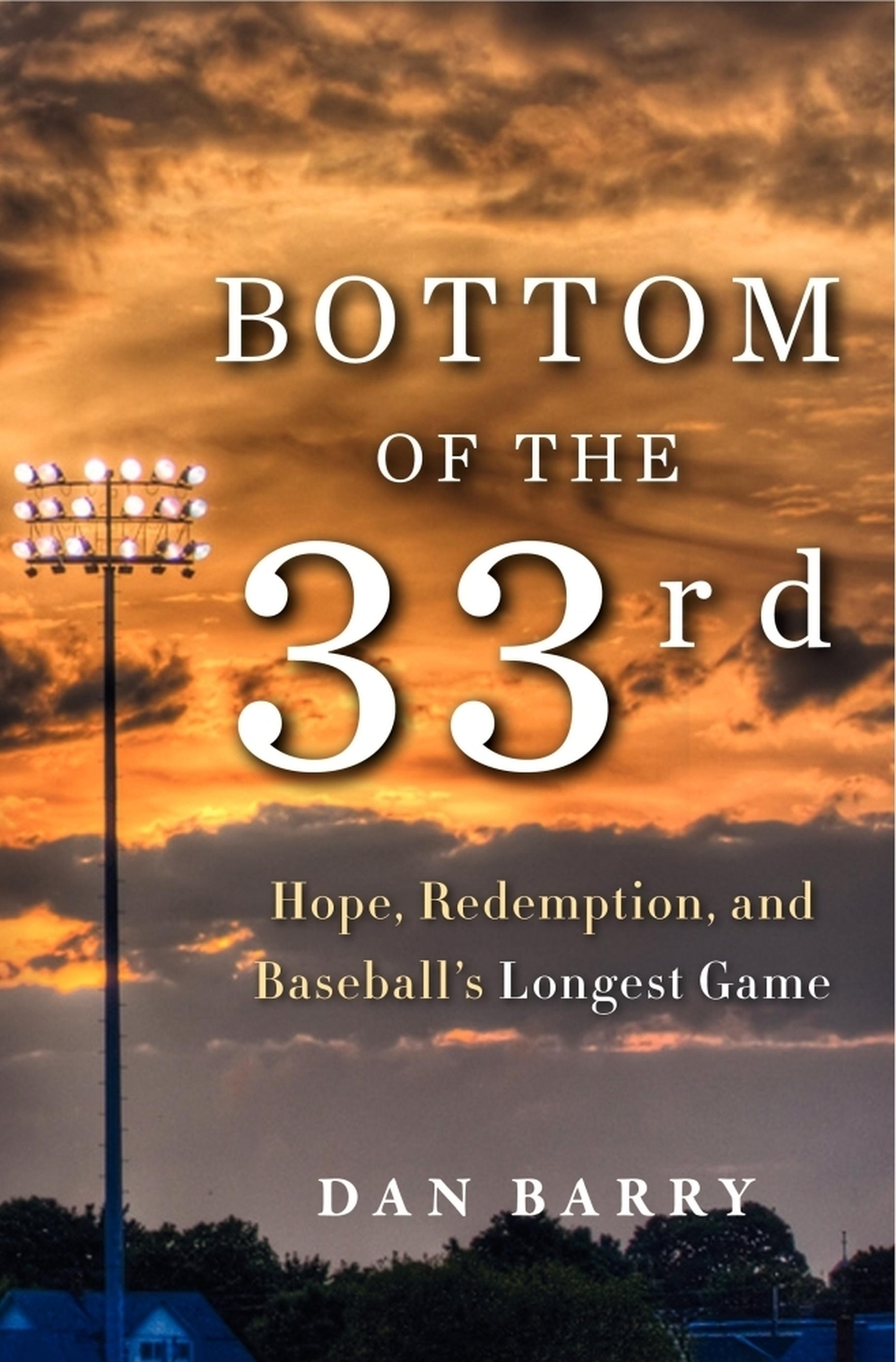"The cover of ""Bottom Of The 33rd."""