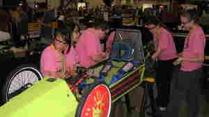 Teams Compete To Build Fuel-Efficient Vehicle