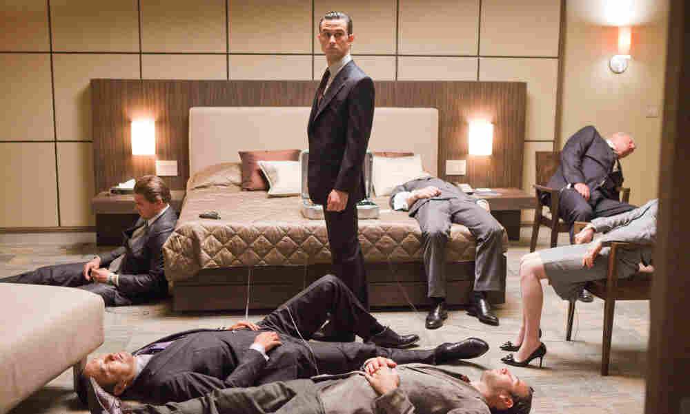 Dream Weaver: In Inception, Joseph Gordon-Levitt (center) plays a point man in an elaborate and illicit scheme to plant an idea in the mind of a businessman while he sleeps.