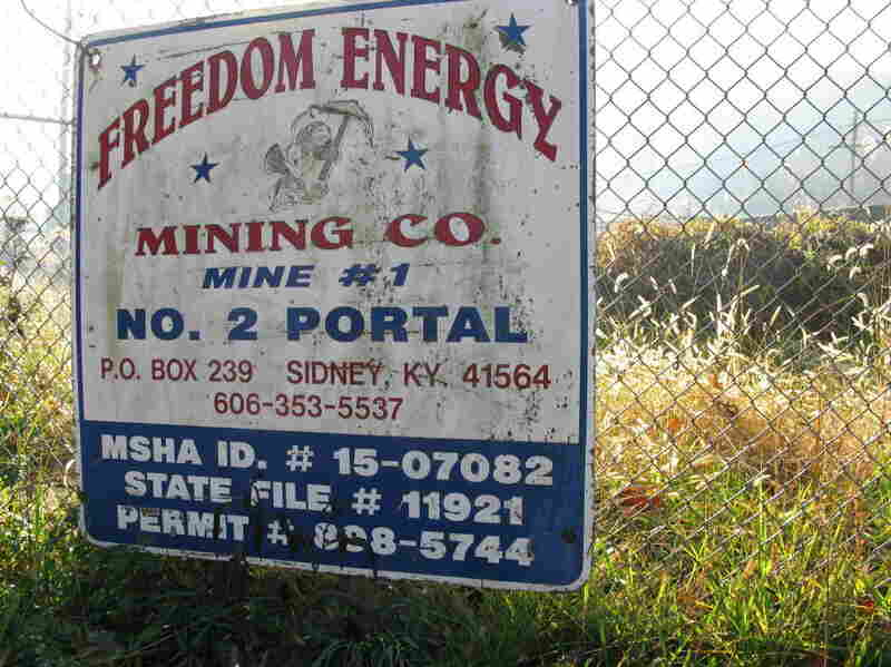 Massey Energy shut down its Freedom Mine in Kentucky, which was targeted by federal regulators for the toughest enforcement action ever.