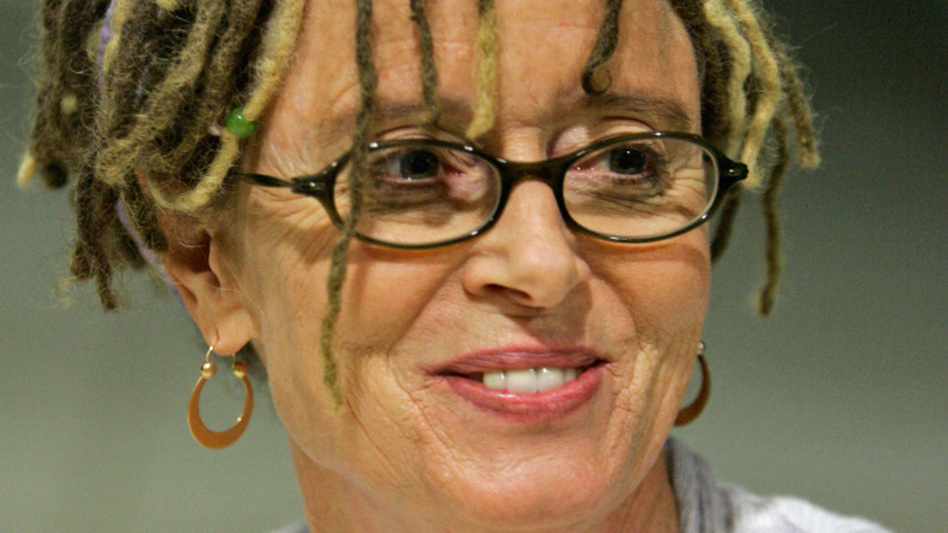 Writer Anne Lamott during a book signing in Omaha, Neb. Lamott is the author of several novels and works of nonfiction.