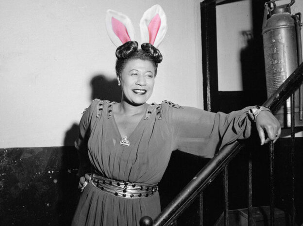 Ella Fitzgerald: Putting all her Easter eggs in one basket.