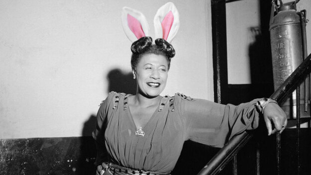 Ella Fitzgerald: Putting all her Easter eggs in one basket. (Photos: William Gottlieb/Library of Congress via Flickr, iStock.)