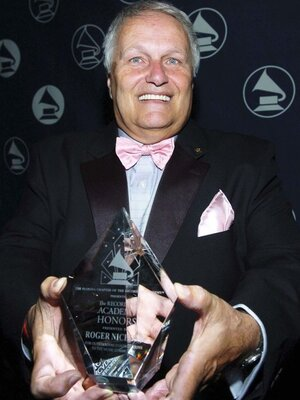 Roger Nichols poses at a Recording Academy Honors event in 2006.