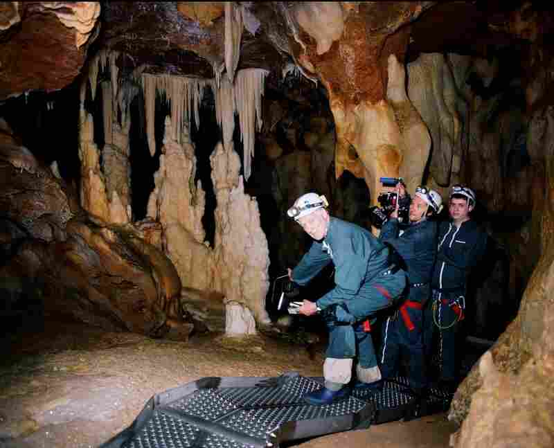Herzog was only permitted to enter the caves for one week of filming.