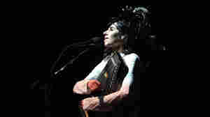 PJ Harvey performs at the Warfield Theater in San Francisco on April 14.