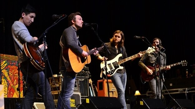 Ivan & Alyosha performed on Mountain Stage.