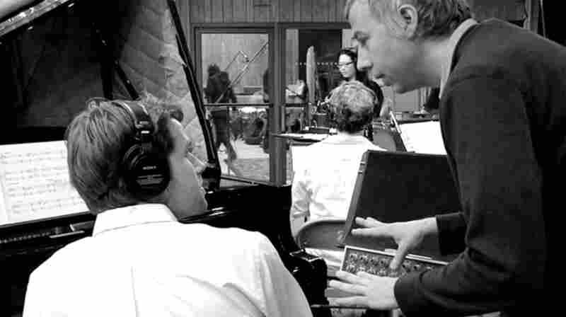 John Vanderslice in his Tiny Telephone studios.