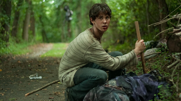 Twilight, It's Not: Martin (Connor Paolo) struggles to survive after his family is massacred by vampires, but he soon learns that other predators — including a religious fundamentalist cult — may be more dangerous in the wild.
