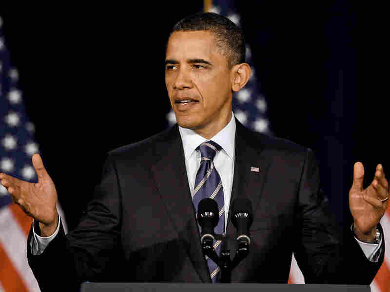 President Barack Obama speaks about handling the debt last week, when he laid out his plan for deficit reduction.