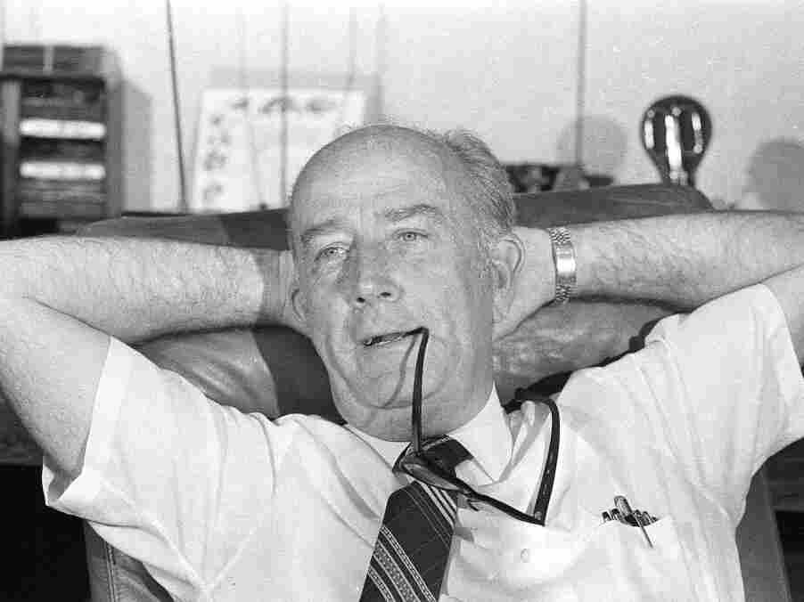 William Donald Schaefer as Baltimore mayor, Sept. 14, 1983, after a landslide primary victory.