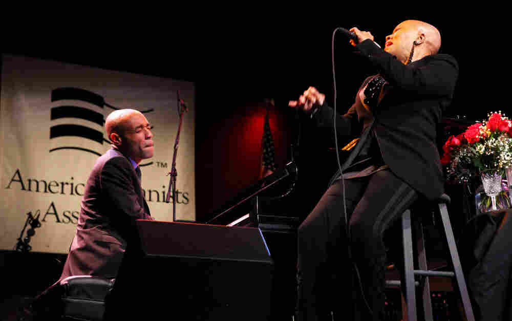 """Aaron Diehl (piano) and Dee Dee Bridgewater go head-to-head on """"Just One of Those Things,"""" by Cole Porter. The duet was part of Diehl's winning performance in the competition for the Cole Porter Fellowship."""
