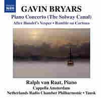 Album cover for Gavin Bryars' Piano Concerto.
