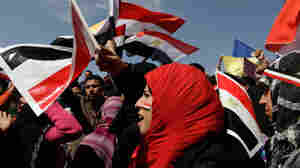 Women Press For A Voice In New Egypt