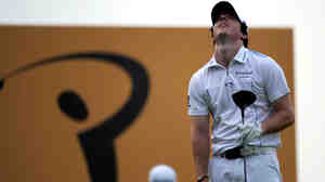 One week after blowing a lead in the Masters, golfer Rory McIlory squandered a chance to win the Maybank Malaysia Open in Kuala Lumpur. McIlroy finished third after holding the 36-hole lead.