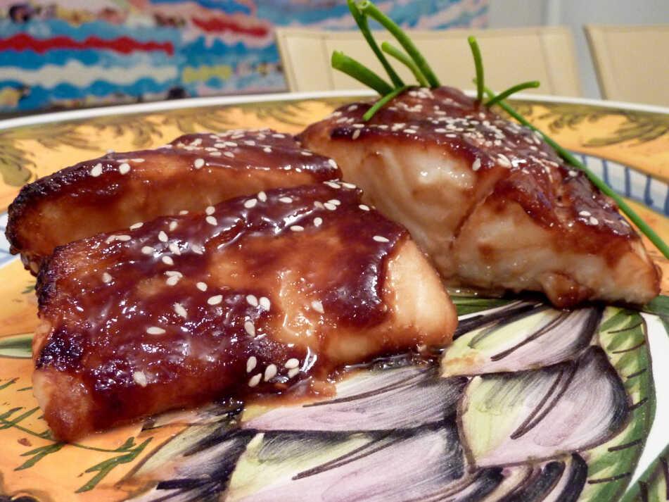Miso-Glazed Halibut