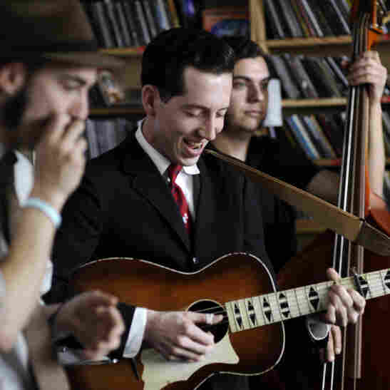 Pokey LaFarge performs a Tiny Desk Concert at the NPR Music offices.