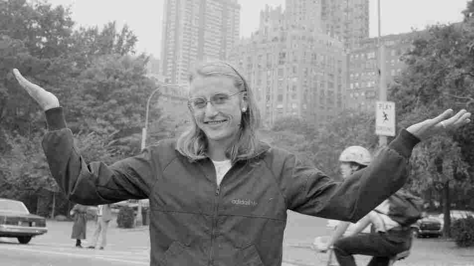 Marathon champion Grete Waitz, in New York's Central Park on Oct. 19, 1983.