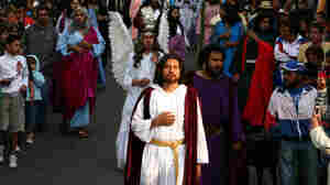 Mexicans Hope For Miracles In Staging Of The Passion