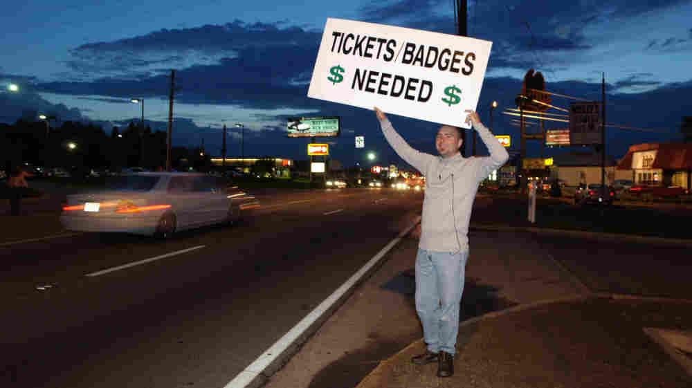 Ticket scalper