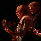 After two decades out of the studio, Hot Tuna's Jorma Kaukonen and Jack Casady (at left, playing guitar and bass) are back with Steady As She Goes.