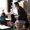 Newly minted second-graders in Rikuzentakata, Japan, begin their school year  more than two weeks late after a tsunami wiped out most of the town.