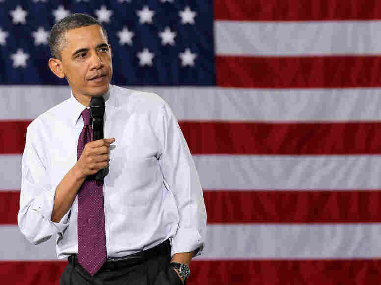 President Obama, on Tuesday in Annandale, Va.