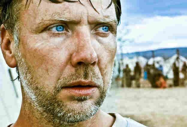 Mikael Persbrandt plays Anton, a doctor who commutes between his idyllic Danish home and his work at an African refugee camp, in In a Better World.