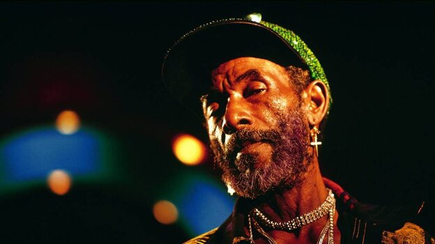 """Lee """"Scratch"""" Perry in the mid-1990s."""