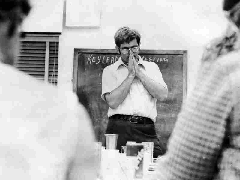 Gingrich taught history at West Georgia College (now known as the University of West Georgia) in the 1970s. Here, he's shown teaching a class.