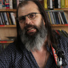 Steve Earle performs a Tiny Desk Concert at the NPR Music offices.