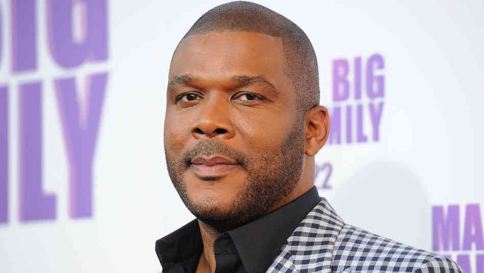 Director/Writer Tyler Perry arrives at the Lionsgate premiere of Madea's Big Happy Family in Hollywood on April 19.