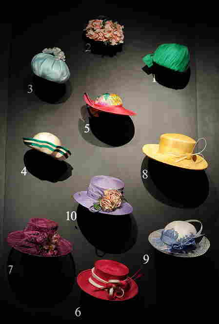 A collection of hats worn by Queen Elizabeth II to the Royal Ascot races is on display at Buckingham Palace.