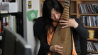 Wu Man performs a Tiny Desk Concert at the NPR Music offices.