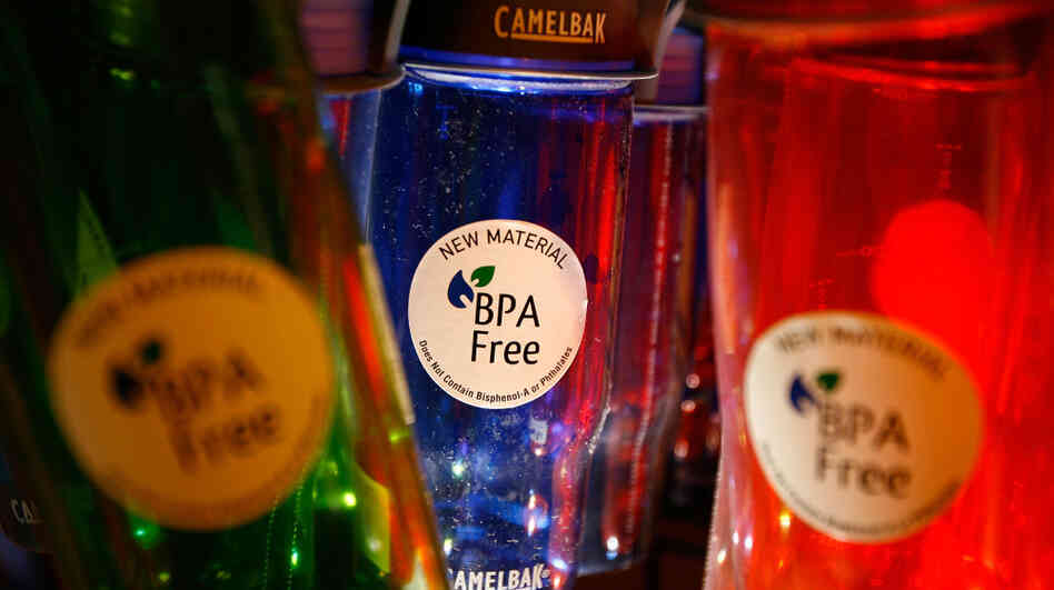 Are BPA-free bottles really safer than the ones that are chock-full of bisphenol A? Good luck trying to find out.
