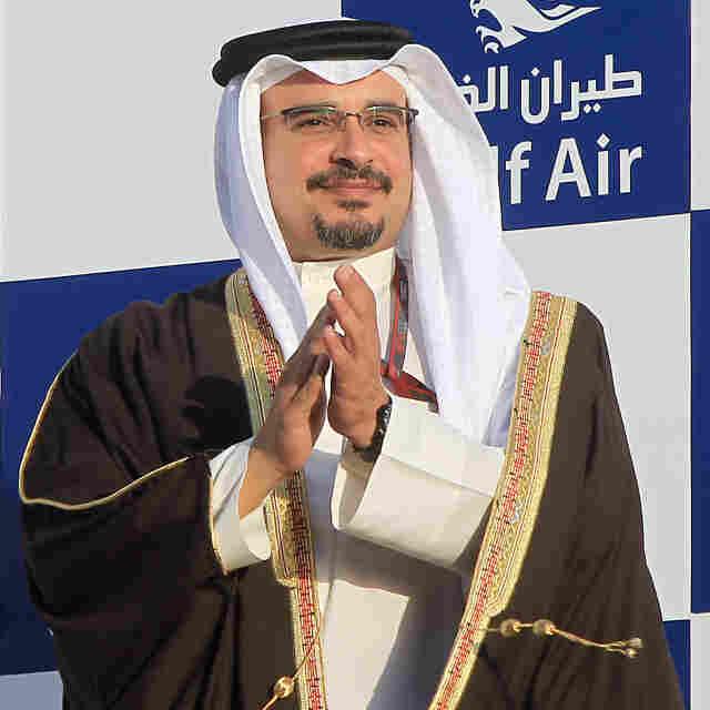 Crown Prince Salman bin Hamad Al Khalifa of Bahrain.