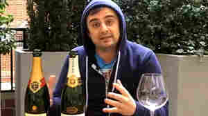 Gary Vaynerchuk reviews wines, including the official champagne of Prince William and Kate Middleton's wedding, for the Daily Grape. Vaynerchuk began video blogging wine reviews in 2006.