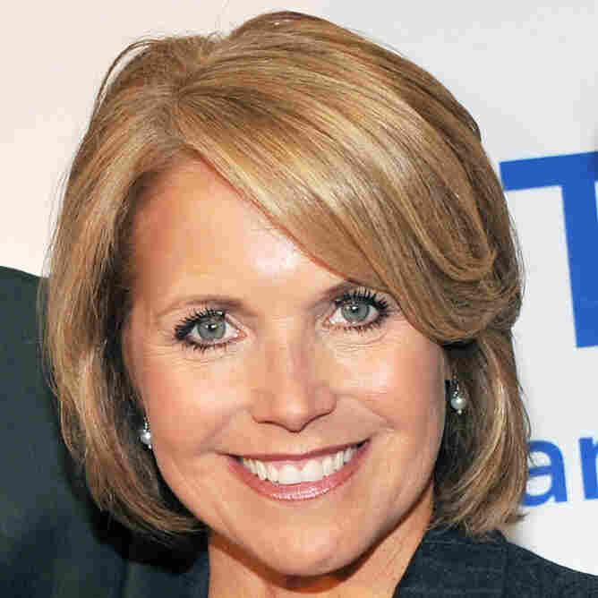 Katie Couric, CBS Evening News anchor.