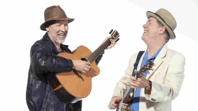 Richard Thompson and Loudon Wainwright III recently performed a session together for World Cafe.