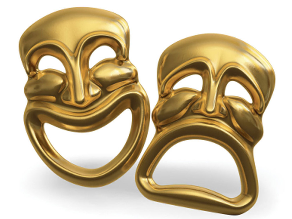 Theatre masks.