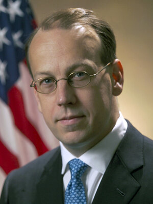 Paul Clement in his Justice Department days.