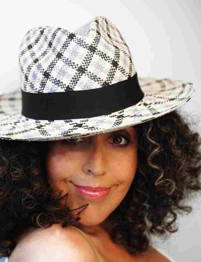 Poly Styrene poses for a recent photo to promote her new full-length album, Generation Indigo.