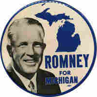 A political button for George Romney
