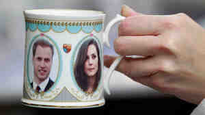 "Cheers! No wedding is complete without a toast. Nigella Lawson recommends a drink she's calling ""The Princess"": fizzy wine or champagne with strawberry puree. Bonus points if you drink it out of a commemorative William and Kate mug."