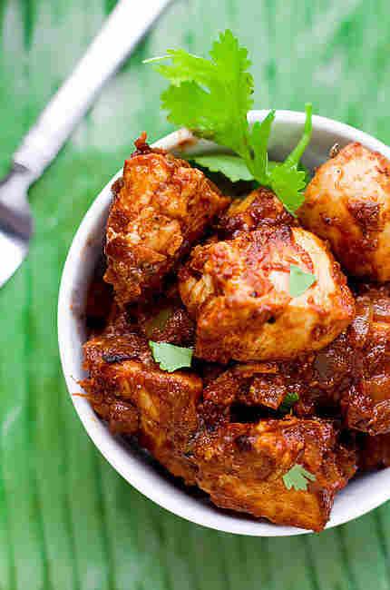 Monica's Super Simple Chicken Curry