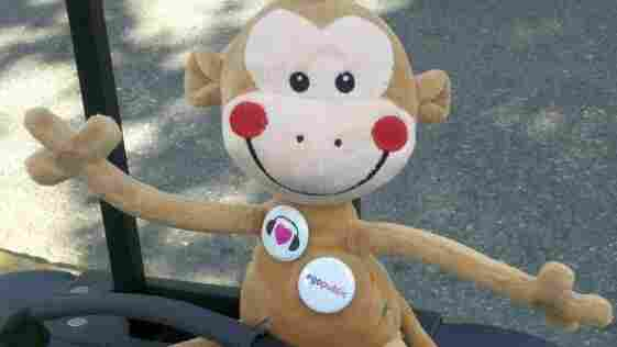 In London, There Are Many, Many People (And At Least One Stuffed Monkey)