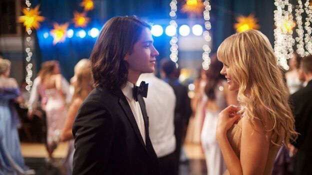 Forever Young: Although he wears a smirk borrowed from notable screen punks, Jesse (Thomas McDonell) shows his romantic colors after warming up to resident perfectionist Nova (Aimee  Teegarden).