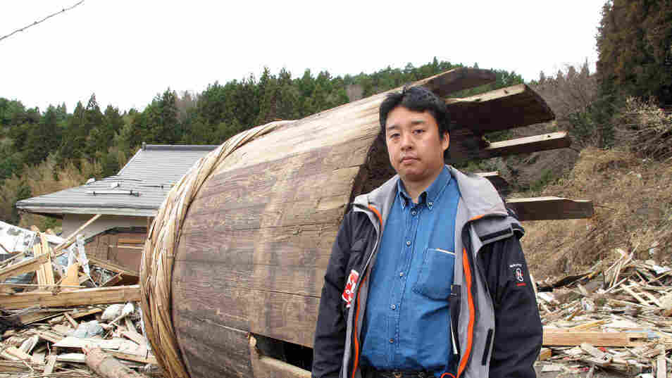 Michihiro Kono is the ninth-generation chief executive of soy sauce maker Yagisawa Co. in Rikuzentakata, Japan. His factory, storeroom, customer records and two of his employees were washed away in the tsunami. But he's determined to rebuild.