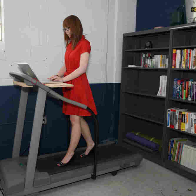 Treadmill Desk Fitbit: Weekly Innovation: Get Moving, While Seated At Your Desk