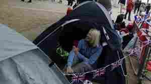 Camped Out And Loving It: The Royal Wedding Die-Hards
